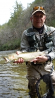Mike Williams Brown Trout on the Chatooga River